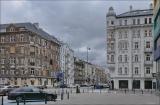Warszawa, skrzyżowanie ul. Jagiellońska i ul. Okrzei 1997 – 2019