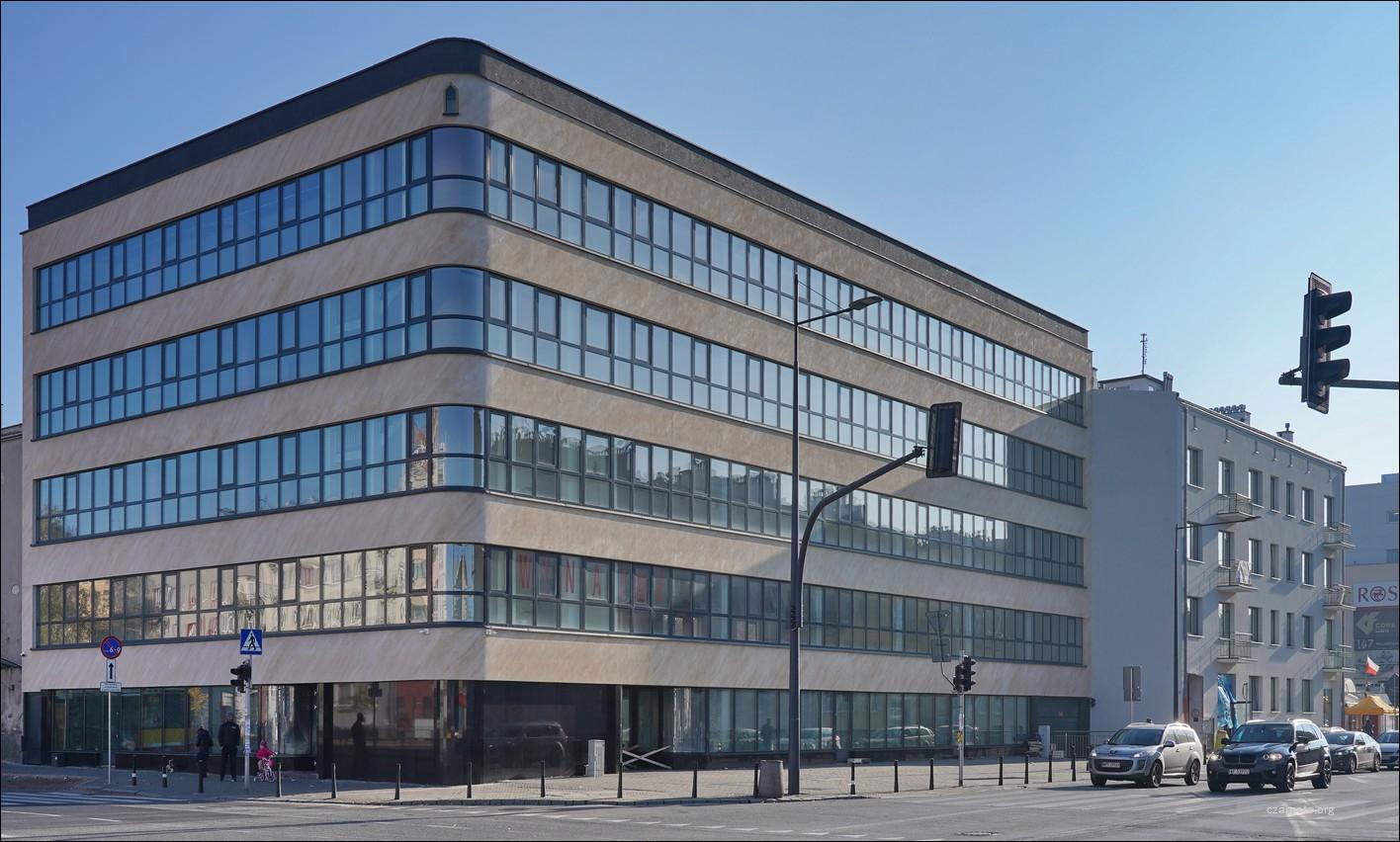 Warszawa, Plac Szembeka / ul. Grochowska / ul. Zamieniecka w 2012 i 2020