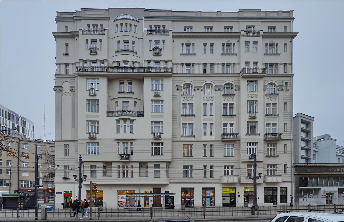 Warszawa, ul. Marszałkowska 1, kamienica Kacperskich